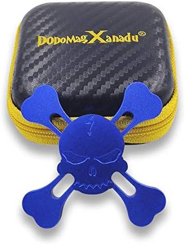 DoDoMagxanadu Skull Hand Fidget Spinner Metal Spinner Toy Focusing Fidget Toys Relievers Stress product image