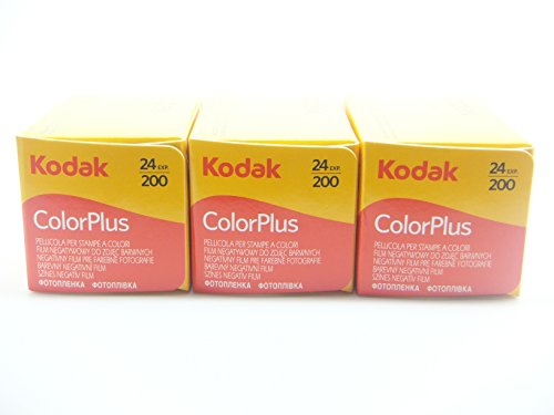 KODAK 35mm colorplus 200 ASA Film (24 exposures) 3er-Pack