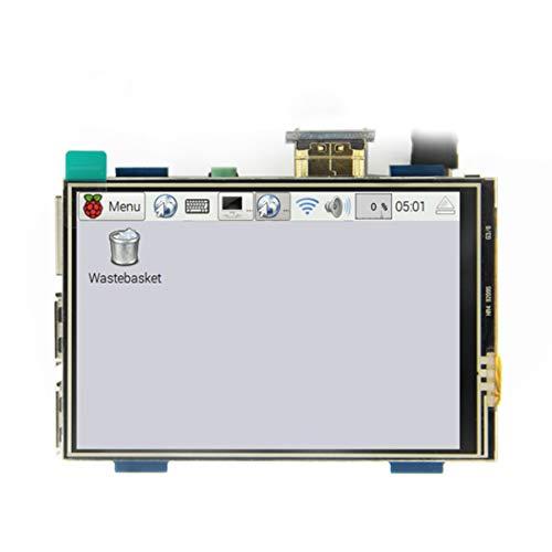 Yaootely 3,5 Zoll LCD USB Beruehrungsempfindlicher Bildschirm eigentliche HD 1920x1080 LCD Display Fuer Raspberry 3 Modell B/Orange Pi (Spiel Video) MPI3508