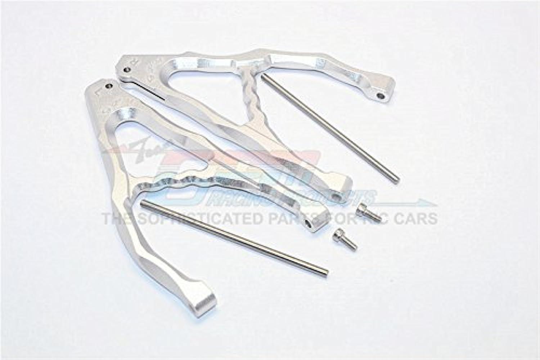 Traxxas E-Revo Brushless Edition Upgrade Parts Aluminum Rear Upper Suspension Arm - 1Pr Set Silver