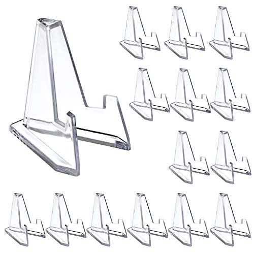 BSTKEY - Mini espositore per monete in acrilico, Small/15Pcs