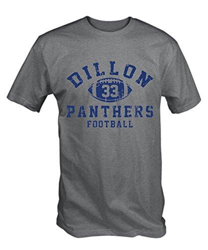 6TN T-Shirt Dillon Panthers 33 (Gris S - XXL) - Gris Cendre, XX-Large