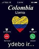 Colombia Llama Ydebo Ir…: Colombia Mi Diario de Viaje, Cuaderno de Recuerdos, bandera de Colombia, 120 paginas