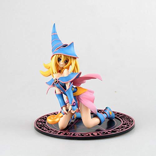 CHEONGS Yugioh Mana 7,8 Pulgadas Juguetes de PVC Favoritos El Todopoderoso Anime Modelo de Personaje de Dibujos Animados Amantes de la Historieta Pasatiempos Decoraciones Modelo a Seguir