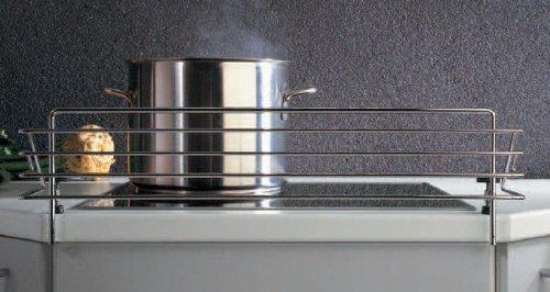 SO-Tech Rejilla Protectora para Placa de Cocina Pinza de Bloqueo Infantil Barrera de Seguridad para Estufa para 60cm Encimera Largo: 678 mm/Alto: 140 mm/Profundidad: 175 mm