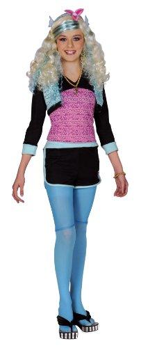 Josman - E619-004 - Déguisement - Costume Monster High Lagoona - Bleu - 10-12 ans