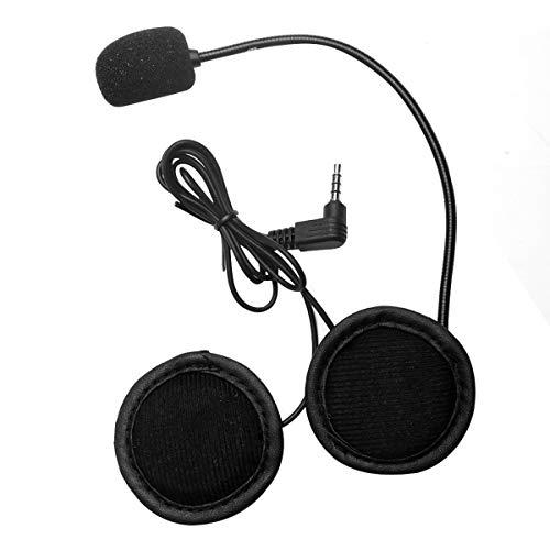 healthwen Micrófono Altavoz Auricular V4 / V6 Interphone Auricular Universal Casco