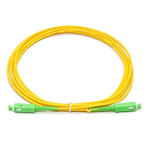 30pcs Factory Price SCAPC-SCAPC pre-terminated Fiber Optic Patch Cord...