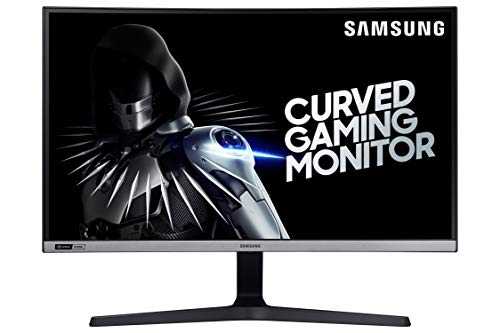 SAMSUNG Monitor Gaming 27' Pulgadas Curvo 240hz, Serie CRG5, 1920x1080, AMD FreeSync, 2 x HDMI, Negro (LC27RG50FQLXZX)