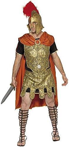 Gladiator Costume in schwarz, Gold and rot-Größe m