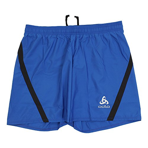 Odlo Sliq Short pour Homme L Bleu (Energy Blue)