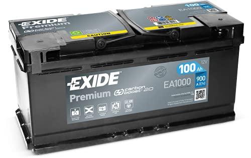 Exide EA1000 Premium Superior Power Autobatterie 12V 100Ah 900A (EN)