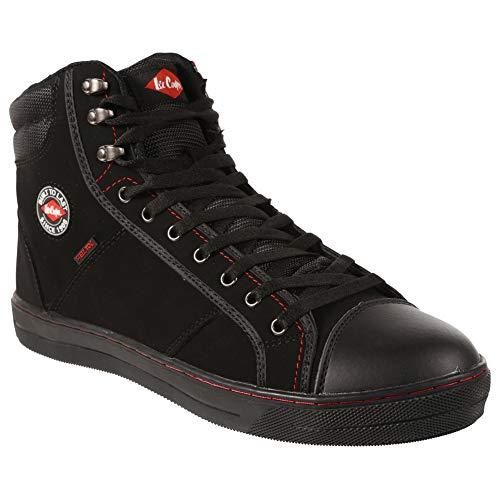 Lee Cooper Workwear Unisex-Erwachsene Sicherheitsschuhe, schwarz, LCSHOE022, 45 EU (11 UK)