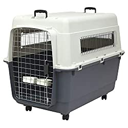 Extra-large plastic dog kennel Crate