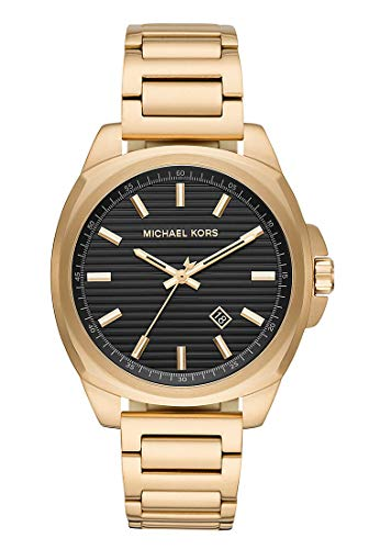 Michael Kors Reloj Analógico para Hombre de Cuarzo con Correa en Acer
