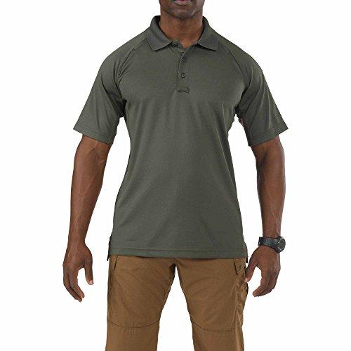 5.11 Performance Polo Short Sleeve Shirt,TDU Green,Small