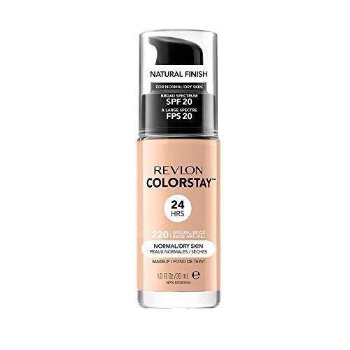 Revlon ColorStay Makeup for Normal/Dry Skin Natural Beige 220, 1er Pack (1 x 30 g)