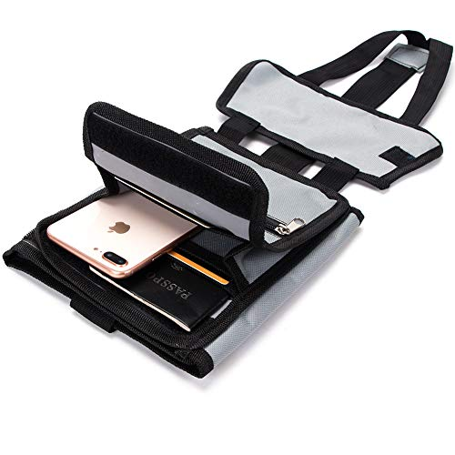 Travel Bag Organizer, Portable Travel Bag, Durable Secure Travel Luggage Storage Bag, Luggage Side Roll SND37 (Grey)