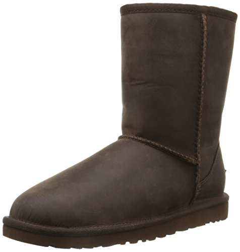 UGG Classic Short 5825 Stivaletti, Donna, Marrone (Leather Brown), 37