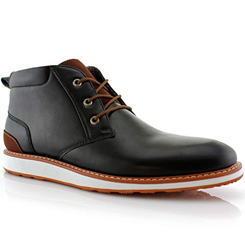 Ferro Aldo Houstan MFA806035 Mens Black Casual Chukka Mid-Top Sneaker Boots –...