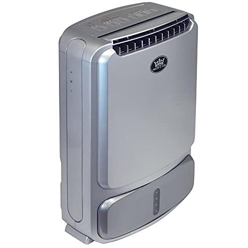 Prem-I-Air - Deumidificatore disseccante con capacità di assorbimento dell'umidità, con serbatoio da 2 litri e ionizzatore