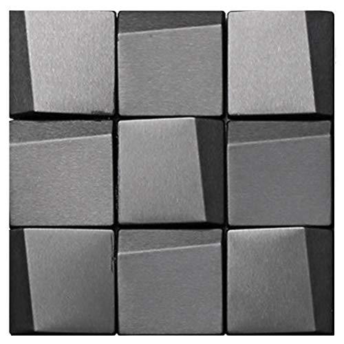 Leileixiao 10 pegatinas de pared para azulejos de mosaico, PVC, impermeables, para decoración de cocina, cocina, baño, pared (color: 8)
