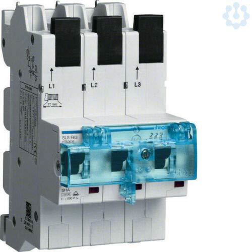 Zählerschrank 2 Zählplätze BKE-I OKK APZ VT5 H=1100mm 3-feldig ESA ZB33ET225N (SLS-Schalter 63A 3polig E für Sammelschiene HTS363)