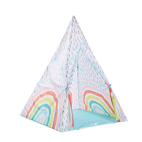 BXzhiri Teepee Tent for Kids Foldable Children Kids Playhouse Indian Style Tent Boys GirlsToy for Children Indoor Outdoor Games Camping