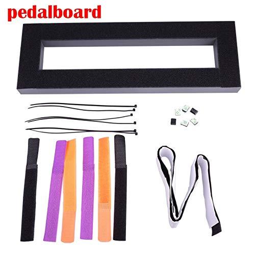Gitaar Effect Pedaal Board Setup 40X13 CM DIY Gitaar Pedalboard Met Magic Tape Muziekinstrument Accessoire Te Koop 120 B Pedalboard