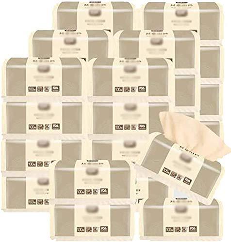 FANPING 28 Papierverpackungen Hygienisch, Einstecktücher Büro, 100 Hygienepapier Pompants