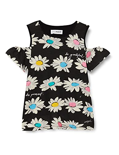 Desigual TS_Marsella Camiseta, Black, 7/8/2020 para Niñas