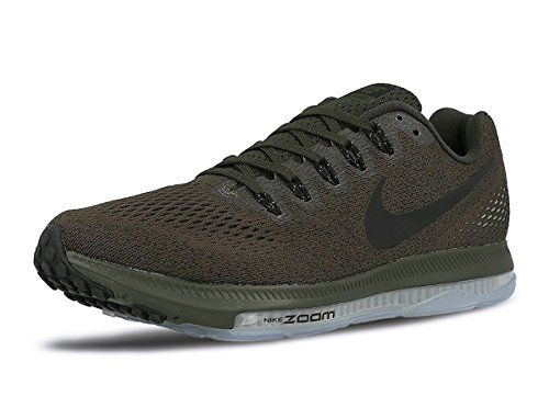 NIKE Zoom All Out Low Men's Running Sneaker (9 D(M) US, Sequoia/Palm Green/Pure Platinum/Black)