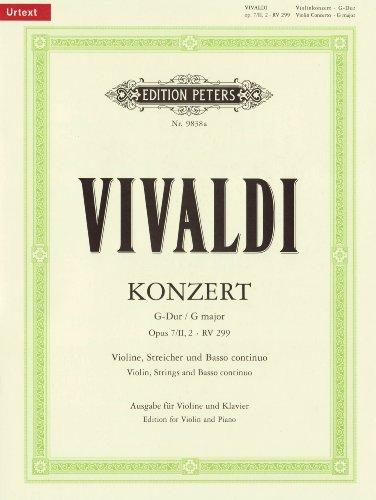 Vivaldi, A: Konzert für Violine, Streicher und Basso continu