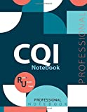 "CQI Notebook, Examination Preparation Notebook, Study writing notebook, Office writing notebook, 140 pages, 8.5"" x 11"", Glossy cover"