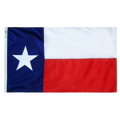 Eder Flag – Texas State Flag - Durable Poly-Max - Proudly Made in The USA - Reinforced Fly Stitching - Heavy-Duty Header - Quality Craftsmanship (6x10 Foot)