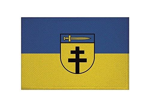 U24 Aufnäher Dornstadt Fahne Flagge Aufbügler Patch 9 x 6 cm