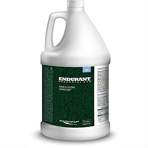 Concentrated Turf and Grass Colorant – 1 Gallon Jug Revitalizes Approximately 5,000 to 10,000 Sq. Ft of Dormant, Drought-Stricken or Patchy Lawn (Perennial Rye)