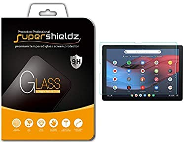 Supershieldz for Google Pixel Slate Tempered Glass Screen Protector, 0.33mm, Anti Scratch, Bubble Free