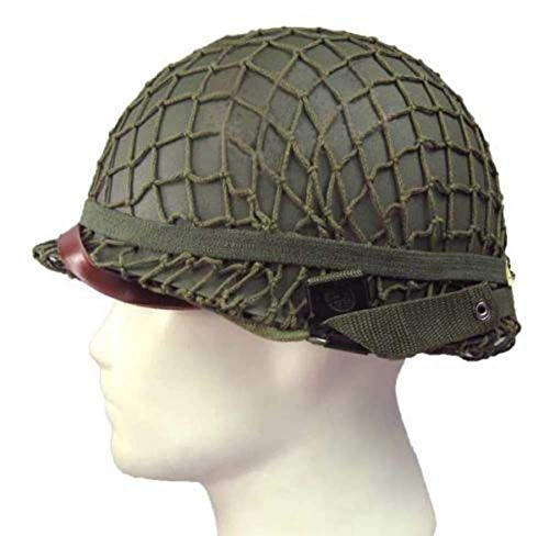 Casco de acero M2 de la Segunda Guerra Mundial equipo militar réplica casco