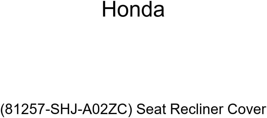 Honda Genuine 81257-SHJ-A02ZC Recliner Latest item Seat Max 54% OFF Cover
