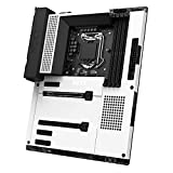 NZXT N7 Z590 - N7-Z59XT-W1 - Intel Z590 chipset (Supports 11th Gen CPUs) - ATX Gaming Motherboard - Integrated I/O Shield - WiFi 6E connectivity - Bluetooth V5.2 - White