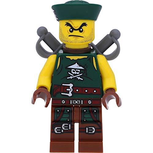 LEGO Ninjago - Minifigura de soldados de los piratas del aire (Skybound) con armas