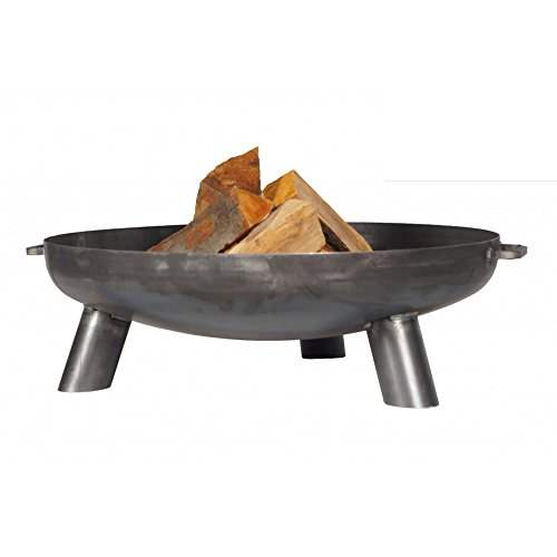 Orlando 2-in-1 Steel Fire Pit and Brazier with 70cm Fire Bowl