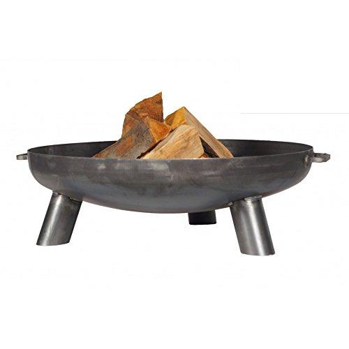 FARMCOOK Feuerschale PAN-37 Stahl unbehandelt in drei Größen (Ø 70 cm H 23 cm)