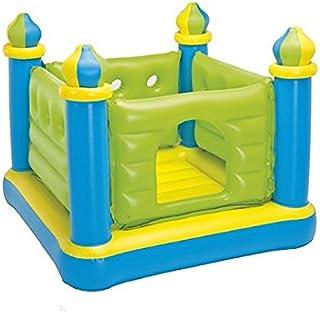 لعبة قلعة القفز قابلة للنفخ للاطفال جامب-او-لين من اينتكس 48257 - اخضر وازرق
