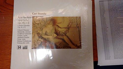 STAMITZ, Carl: Klarinettenquartettem op.19/1 > 3--KOC 110003 FA-Vinyl LP-KOCH SCHWANN - Germania-STAMITZ Anton (Boemia)-BAADER Adelheid (viola); BRUNNER Eduard (clarinetto); SCHNEIDER Gottfried (violino); VEIHELMANN Helmut (violoncello)