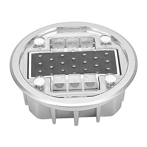 Begraven zonnelamp, 4 LED-vloerlampen voor de buitentuin, vloerlampen op zonne-energie LED-landschapsverlichting voor het pad Gazon Ondergrondse binnenplaats Terras Loopbrug (geel)