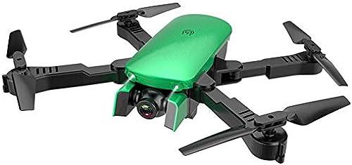 ZHEL Drohne und Dual-Kamera 720P HD-Fotografie, 4-Achsen-Gyroskop drahtlose Fernbedienung Anf er Mini-Drohne für Kinder,Grün