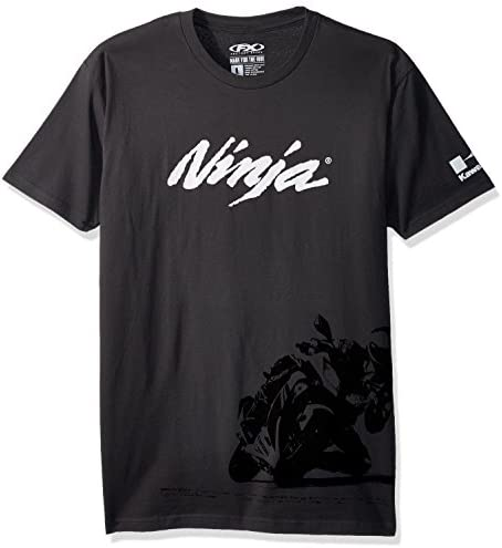 Factory Effex 18 87134 Ninja T Shirt Heather Grey Large product image