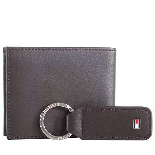 TOMMY HILFIGER Eton Mini CC Wallet Veleno Box Brown